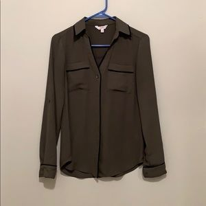 Candies olive blouse